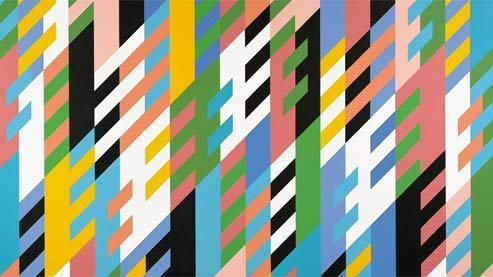Bridget Riley, Un nouveau jour, 1988. Bridget Riley/Courtesy Karsten Schubert/Collection particulière