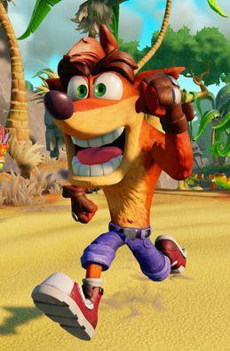 Crash Bandicoot as featured in Skylanders Imaginators ','
