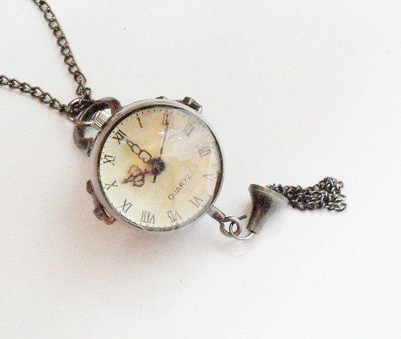 Orologio da tasca collana orologio da tasca di TankGirlShop, €19.90