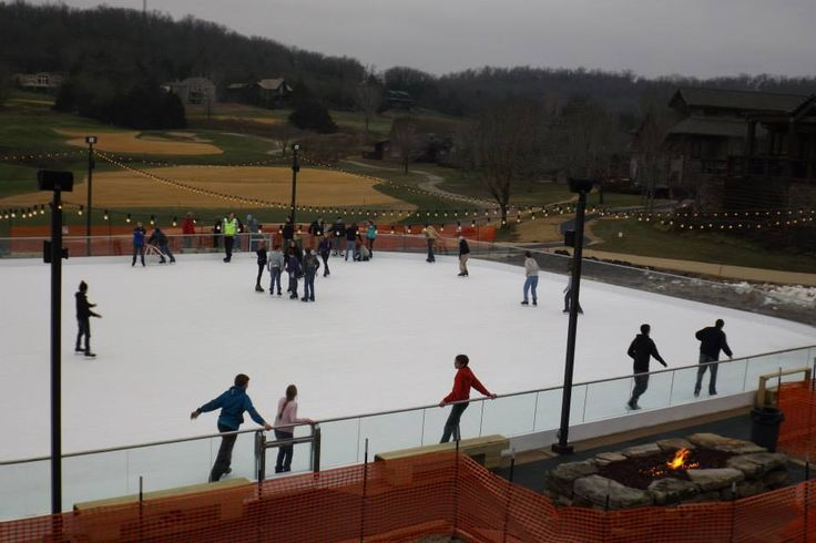how to make a skating rink on the lake
