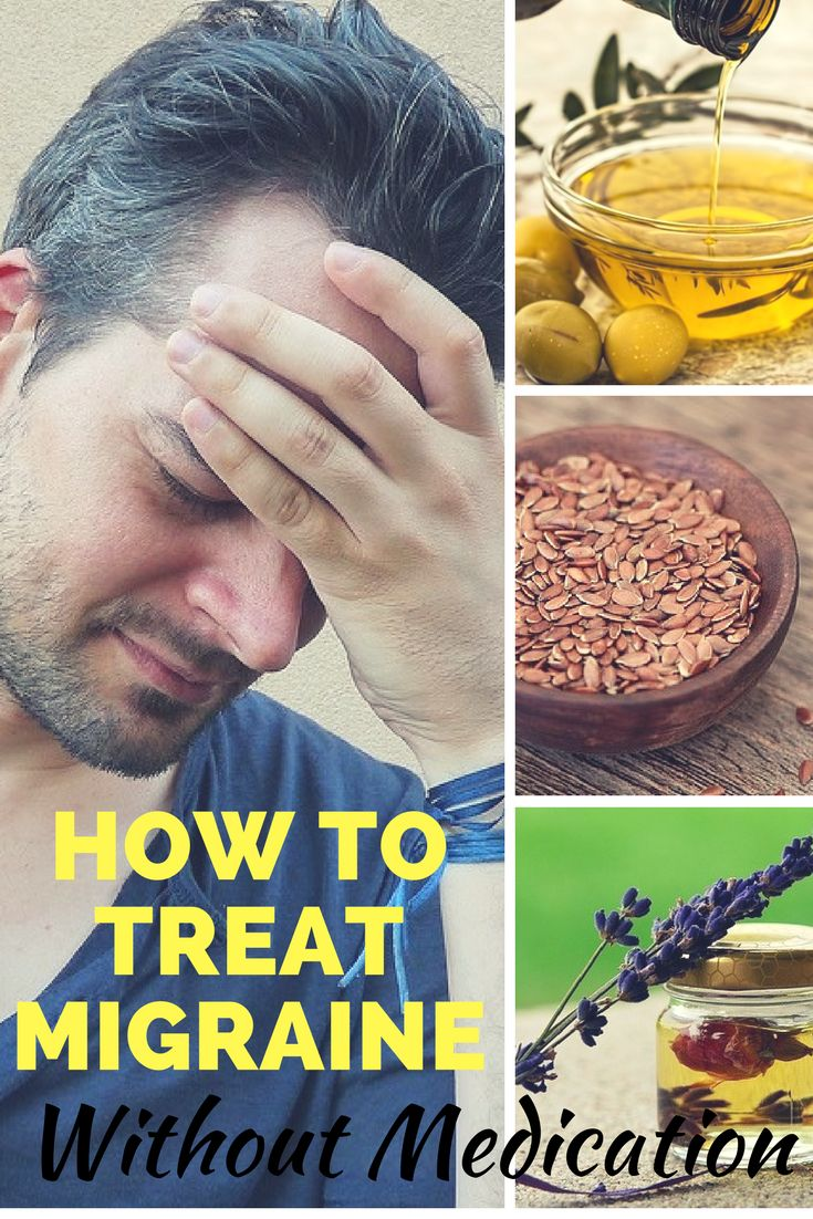 Ways to treat migraine headaches without medication. Do you know any other natural and effective ways?