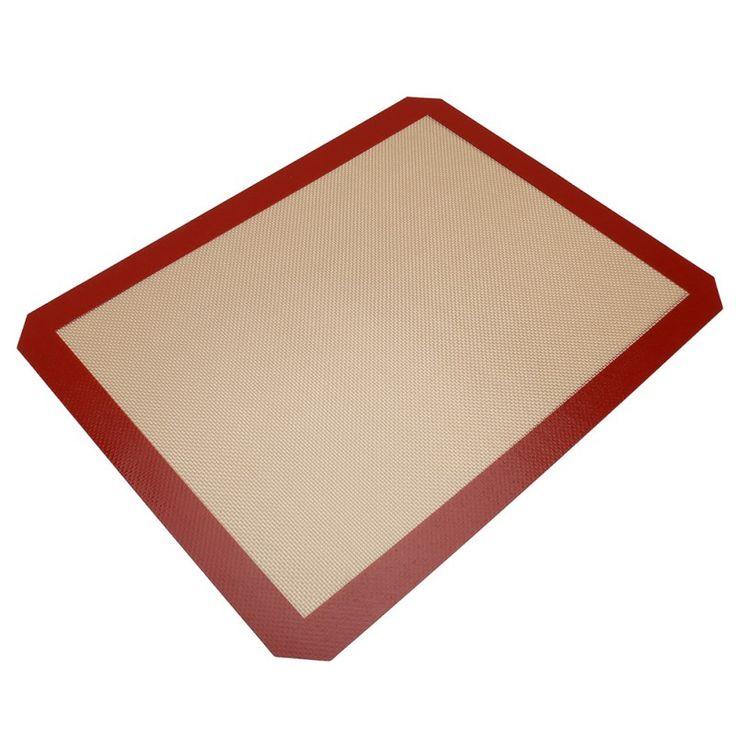 Non-stick Silikon Kue Tikar Pad 42*29.5 cm Baking Lembar Serat Kaca Bergulir Adonan Tikar Ukuran besar untuk Kue Kue Macaron #Affiliate