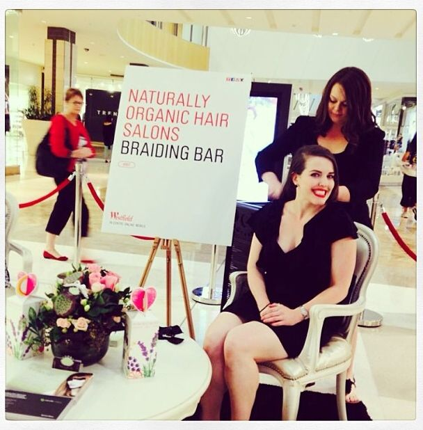 Taking part in Westfield Chermsides Beauty Bar