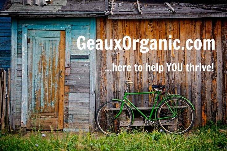About Geaux Organic ... :http://www.geauxorganic.com/about-geaux-organic/