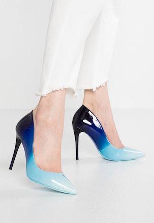 ff2152c15e44b2 STESSY - Zapatos altos - light blue