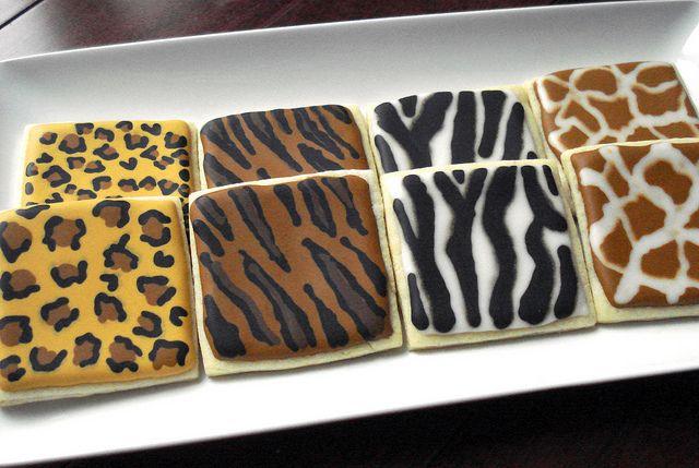 animal print cookies - Google Search