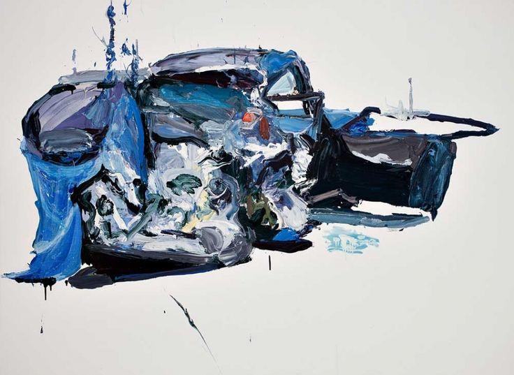Ben Quilty Car Crash