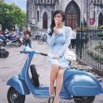 Scooter Girl Vespas 97