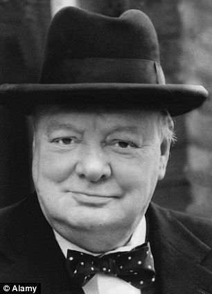 Sir Winston Churchill, Prime Minister and an accomplished artist. One of the giants of history.