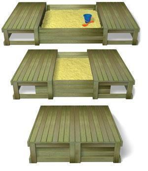 17 melhores ideias sobre caixa de areia pallet no for Mobilia valentina