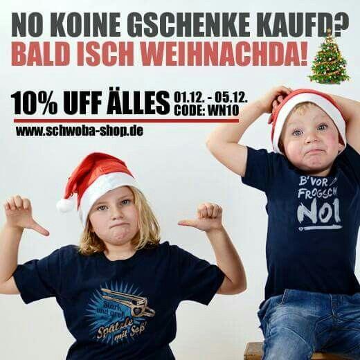 www.schwoba-shop.de  #weihnachten #shirt #shop #sparen #rabatt #schwäbisch  #schwaben #schwoba #württemberg