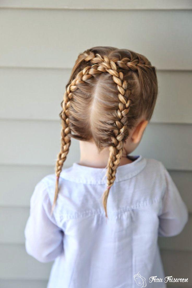 12 schöne geflochtene Frisuren für Kinder  Frisuren lange haare