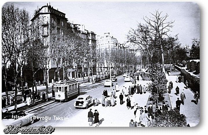 Taksim - 1950 ler
