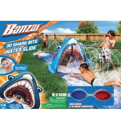 Banzai Ślizgawka wodna z rekinem 3D + okulary - Shark Bite https://pulcino.pl/banzai/796-banzai-slizgawka-wodna-z-rekinem-3d-okulary-shark-bite-water-slide.html