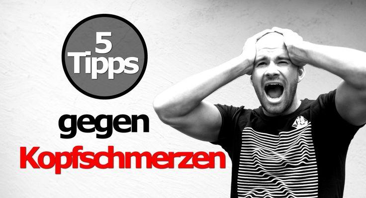 5 Tipps gegen Kopfschmerzen / Was tun gegen Kopfweh - Migräne Aura bekäm...