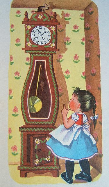 https://flic.kr/p/rgLop | The Big Book of Mother Goose | illustrated by Alice Schlesinger c. 1953