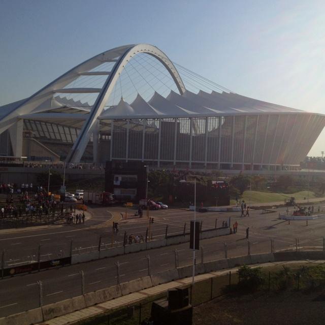 Moses Mabhida Stadium | Durban | Top Gear Festival 2012