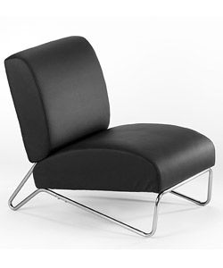 @Overstock - Chair adds a classy look and feeling to any room  Furniture features a design reminiscent of the motorcycle in the classic movie 'Easy Rider'  Chair boasts detailed stainless steel legshttp://www.overstock.com/Home-Garden/Easy-Rider-Black-Vinyl-Chair/3080835/product.html?CID=214117 $130.99