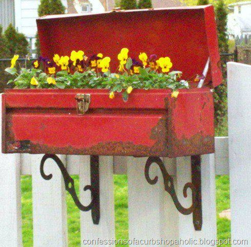 """From http://www.thecottagehousempls.com   on Facebook  Caption was """"Honey have you seen my old toolbox??"""""""