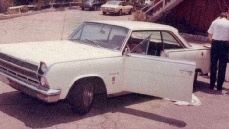 Steve Parent's car
