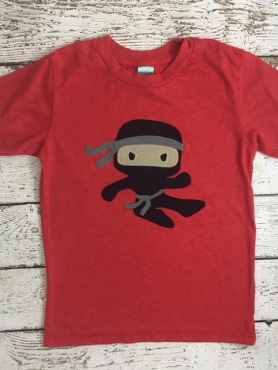 d3c8ae8d New lil threadz design posted! Ninja shirt boy's t-shirt Karate Tae Kwon Do