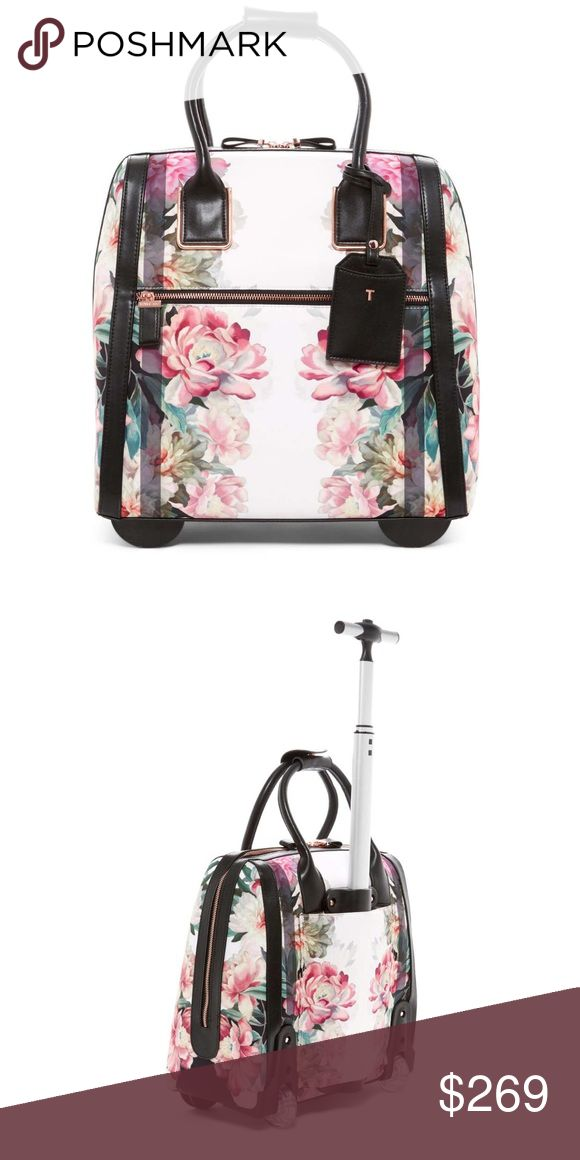 be5bd7d3b Ted Baker Naoimie Painted Posie Travel Bag Ted Baker London Naoimie Painted  Posie Wheeled Suitcase Travel Bag Luggage NWT Ted Baker Lo…