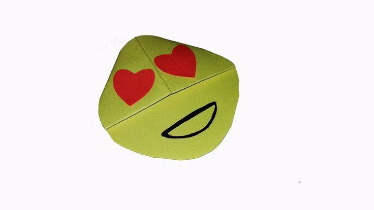 Easy Emoji DIY Bookmark Corners - Origami Paper Emoji - Easy paper emoji...