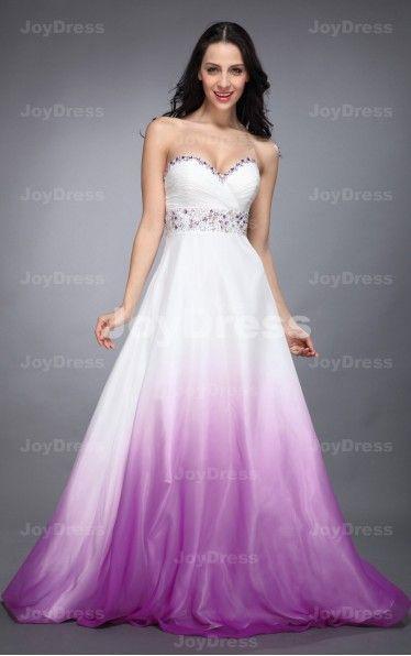 Gradient Colours A-line Sweetheart Floor-length Dress   £72.00