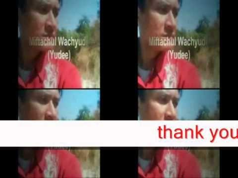 thank you for wanting me at my side- Miftachul Wachyudi (Yudee)