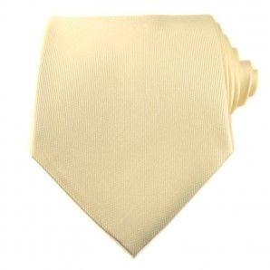 Cream Neckties / Formal Neckties.