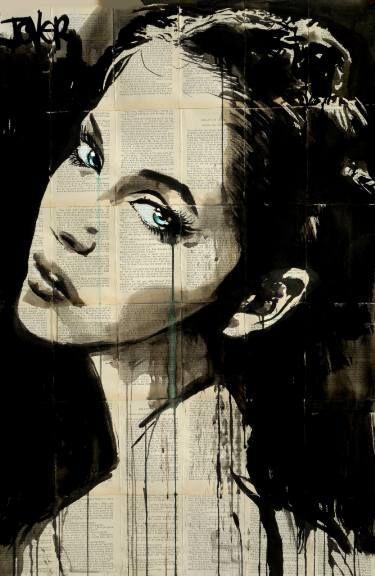 "Saatchi Art Artist Loui Jover; Drawing, ""so far..."" #art"