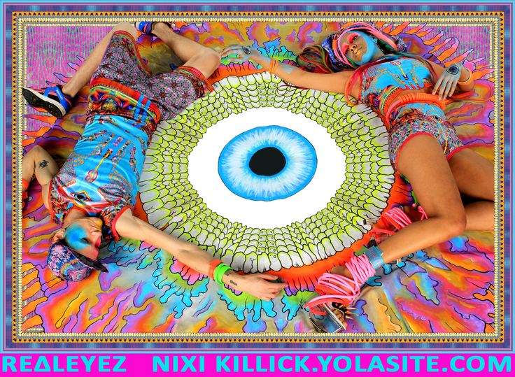 REΔLEYEZ - NIXI KILLICK SUMMER CAPSULE COLLECTION SS13  Available online at http://www.nixikillick.yolasite.com/  Stay fly cyber babes ! x