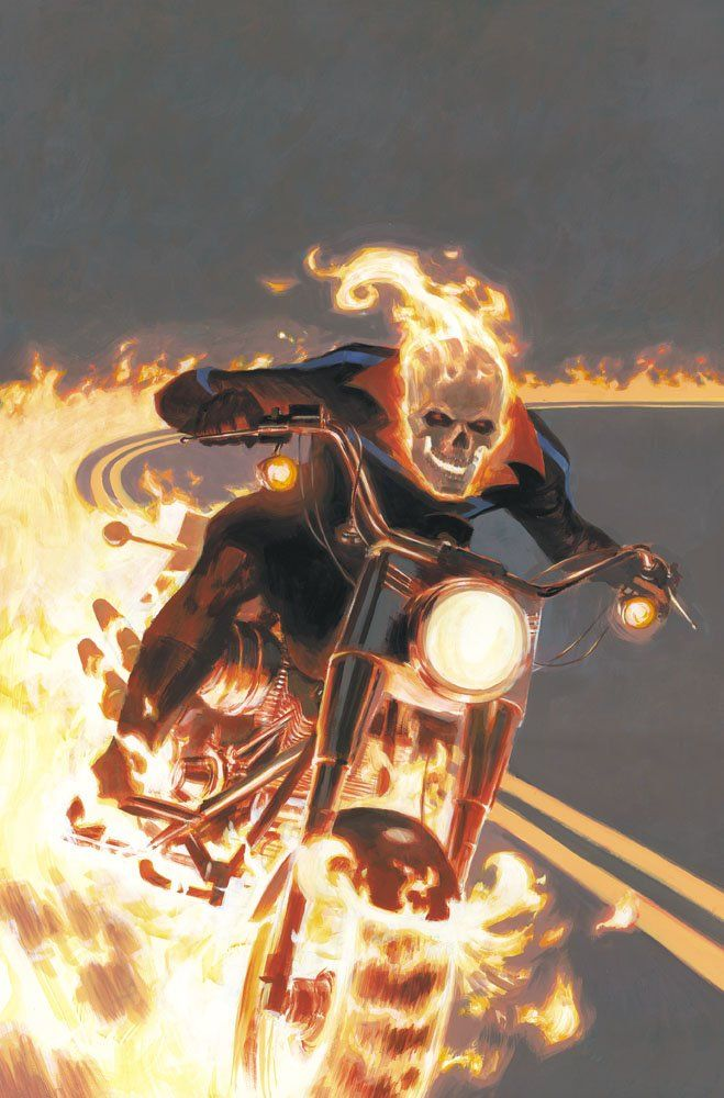 Mythos Ghost Rider by Paolo Rivera