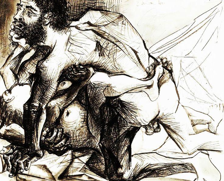 Βιασμός (1973?) Το έργο άλλαξε χέρια στον οίκο Σόθμπις για 13,5 εκατομ. δολάρια