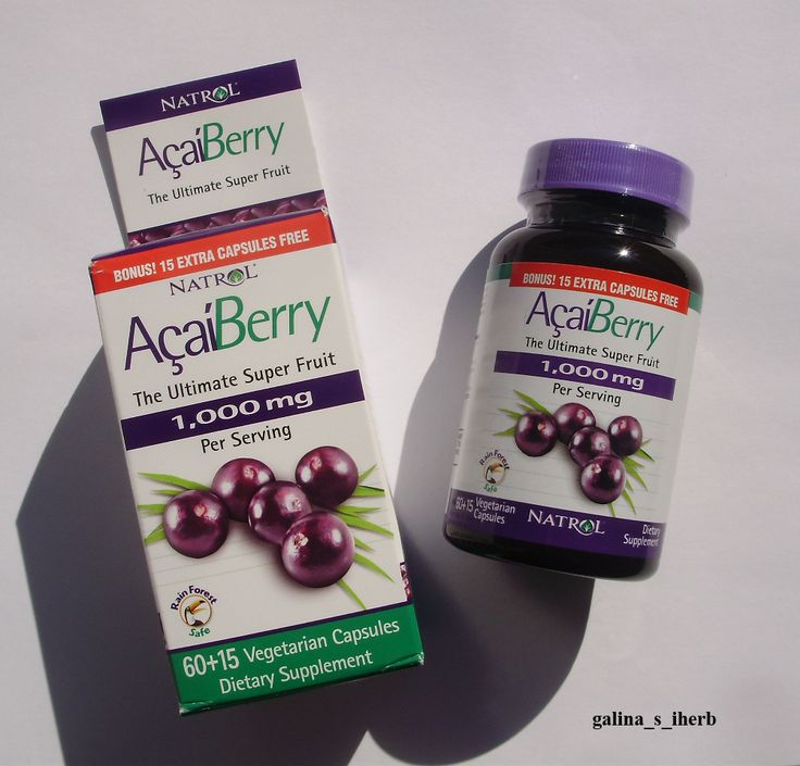 Natrol, Питательная ягода асаи, 75 капсул http://galina-s-iherb.livejournal.com/32332.html http://uk.iherb.com/Natrol-AcaiBerry-The-Ultimate-Super-Fruit-75-Veggie-Caps/36531?rcode=KBJ369