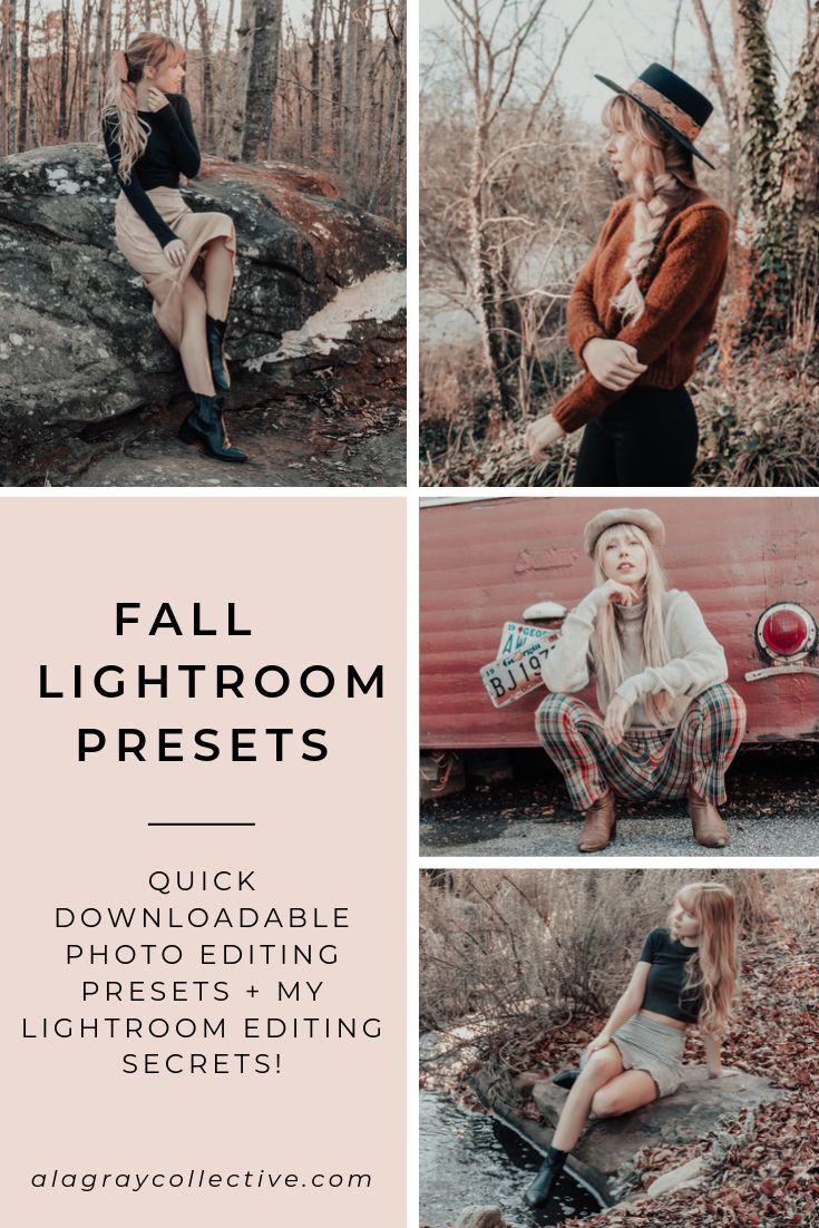 Warm Moody Lightroom Mobile Preset A La Gray Collective Instagram Strategy Instagram Marketing Instagram Marketing Tips