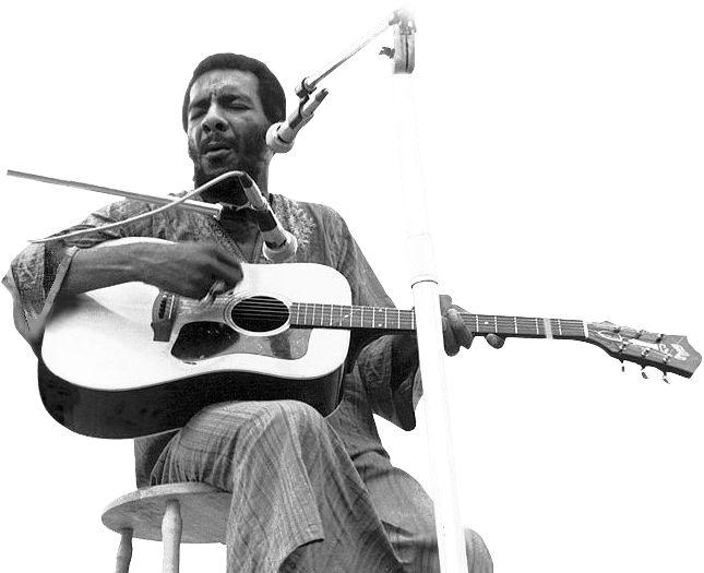 Richie Havens at Woodstock