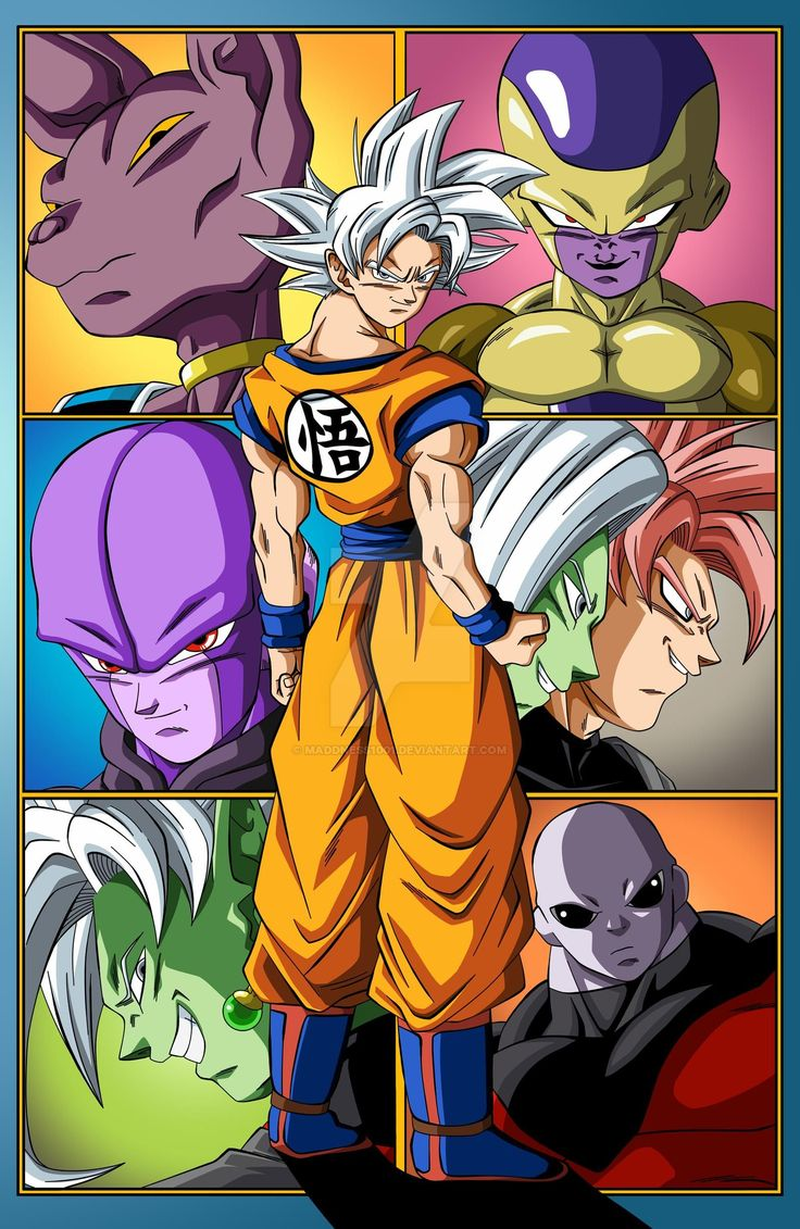 The Arc's of Dragon Ball Super Goku poster V2 by