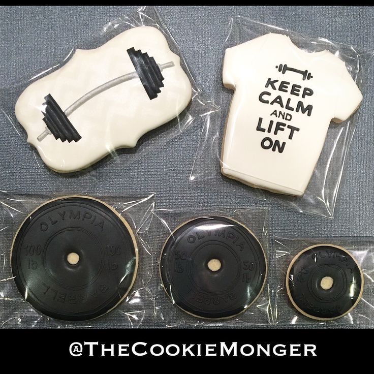 Powerlifting Cookies ~ The CookieMonger ~ We can turn any idea into awesome cookies! Email thecookiemonger@outlook.com.