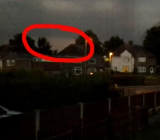 @Luke_Bettridge I caught a photo of lightening. My question is how does lightening occur?