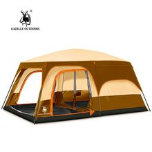 2016 New 2 layer 5-8 person 2 bedroom 1 livingroom hiking travel family base picnic fishing beach outdoor camping tent //Price: $US $163.16 & Up to 18% Cashback on Orders. //     #jewelry