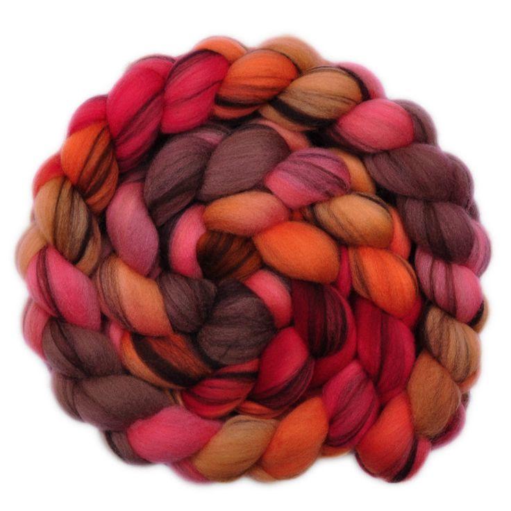 Merino Wool Roving 21.5 micron - Artful Dodger 2 - 4.2 ounces
