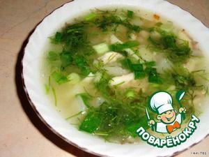 Сырный суп по-английски.