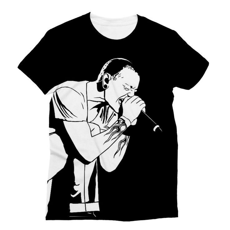 """R.I.P Chester Bennington"" Sublimation T-Shirt"