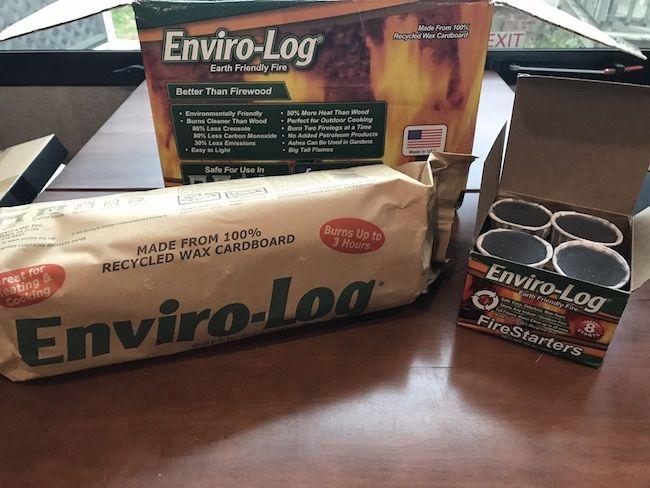 Keep Warm With Enviro Log Fire Logs Be Plum Crazy Log Fires Blog Love Helpful Hints