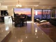 sunset from Hamilton House, Fresnaye, Cape Town.   www.hamiltonhousecapetown.com