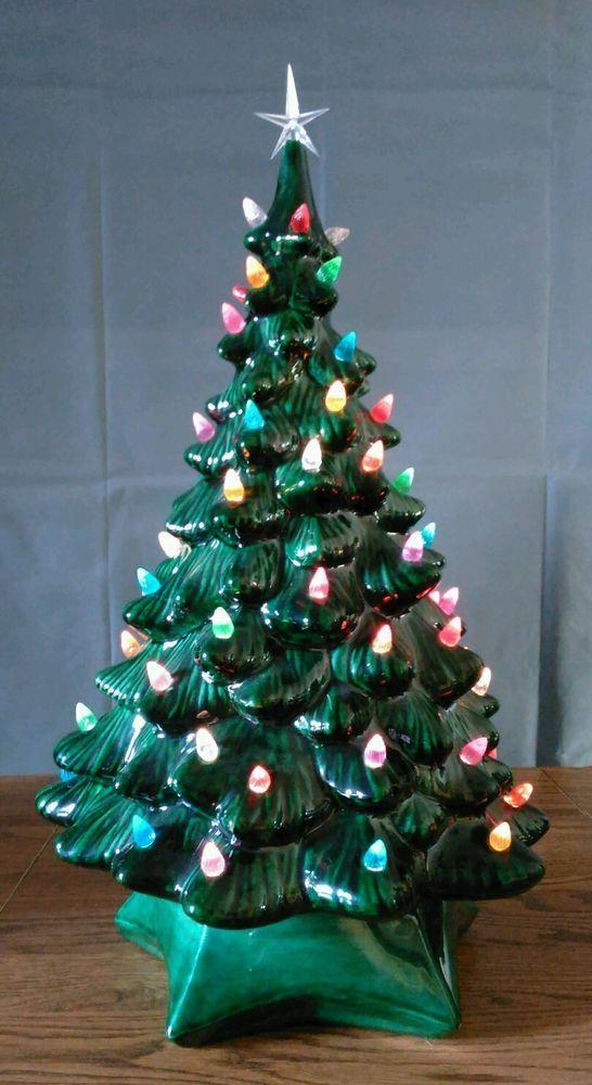 Old Fashioned Ceramic Christmas Tree
