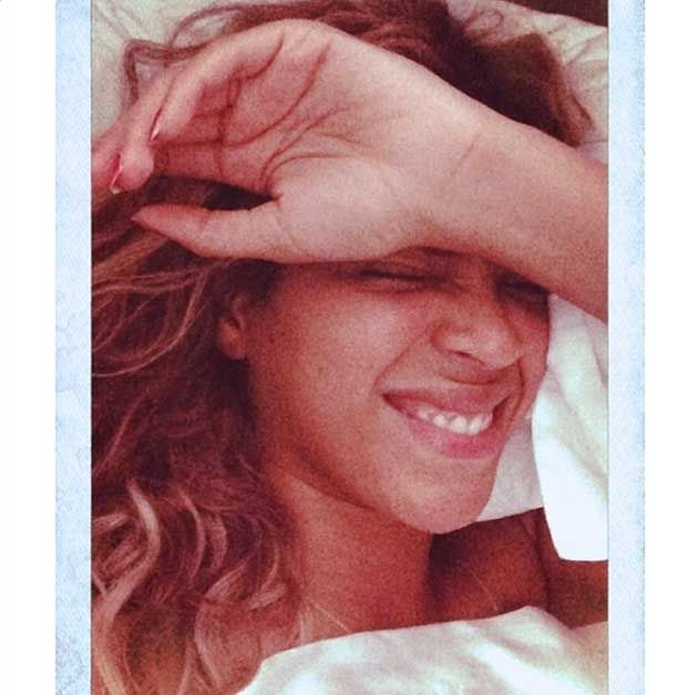 Beyonce sin maquillaje