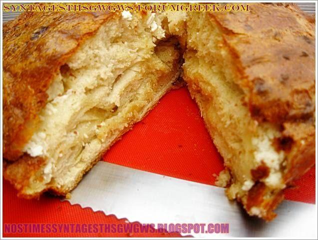 Ψωμι με τυρι δυο σε ενα!!! Υπεροχο,μυρωδατο,αφρατο και γευστικοτατο τυροψωμο για ολη την οικογενεια και για ολες τις ωρες!!! <strong>Δοκιμαστε το!!!</strong>