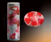 Bombe - Table - Confettis - Pétale - Rose - Ø 20cm - K1C1 ROUGE BLANC ROSE